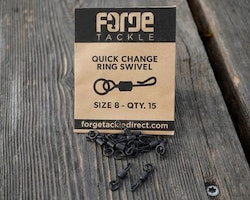 FORGE Tackle QC Ring Swivel Size 8