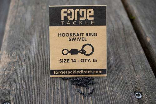 FORGE Tackle Hookbait Ring Swivel size 14