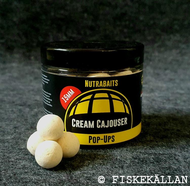 Nutrabaits Cream Cajouser Pop Ups 15mm