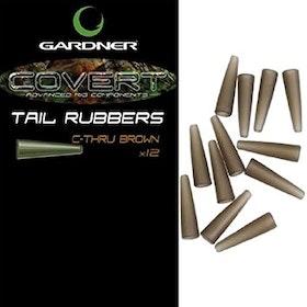 Gardner Covert Tail Rubbers C-Thru Brown
