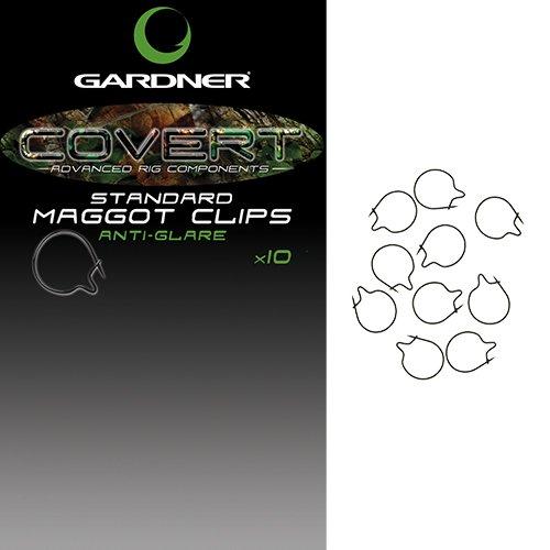 Gardner Covert Mini Maggot Clips 8mm