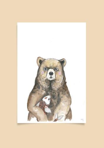 Björnen och Fisken
