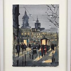 Kungsportsavenyn . Göteborg -Finns på Noa Gallery