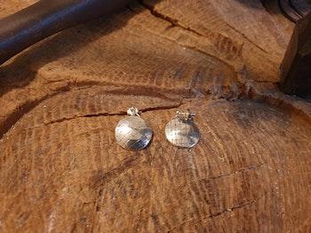 Silverörhängen nätmönster