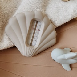 Silicone Bath Thermometer - Warm Grey