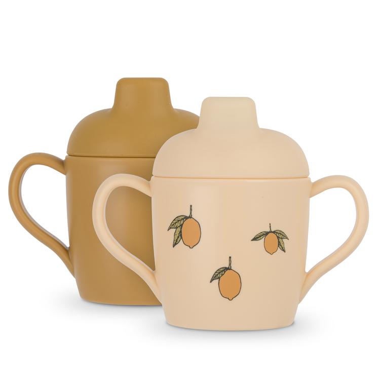 2-pack Sippy Cup Lemon - Konges Slöjd