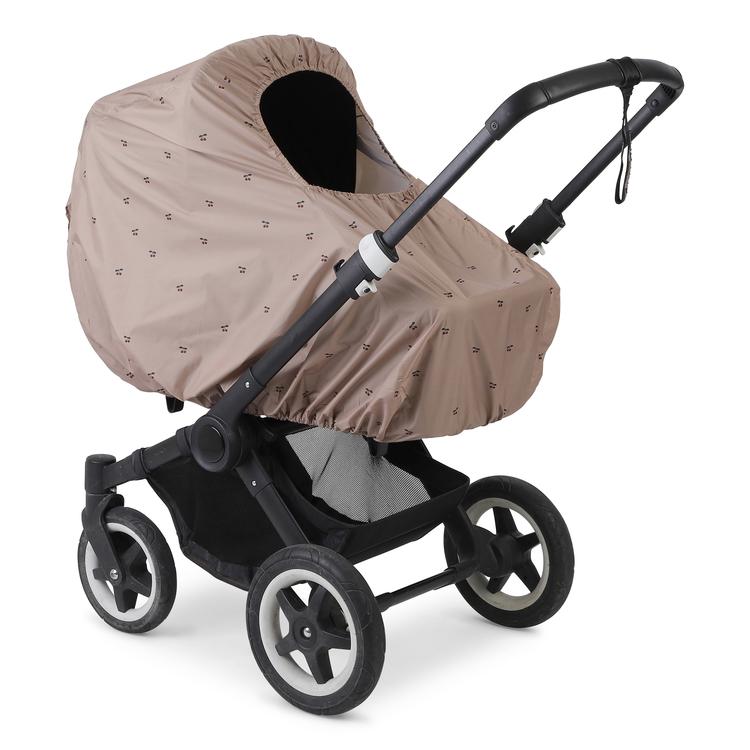 Regnskydd i cherry till barnvagn - Konges Slöjd