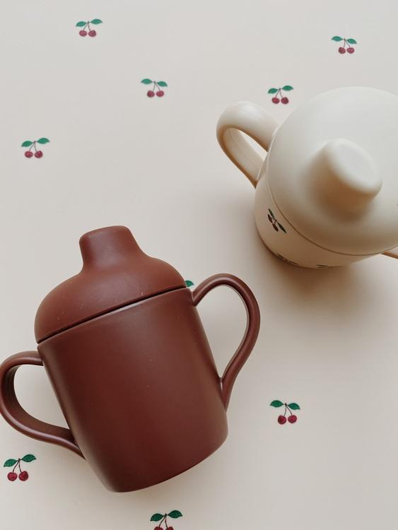 2-pack Sippy Cup Cherry - Konges Slöjd