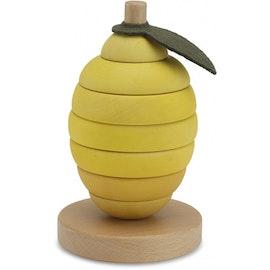 Stapeltorn Lemon, Stacking Fruits - Konges Slöjd