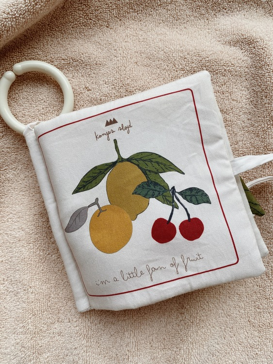 Prasselbok Fruits - Konges Slöjd