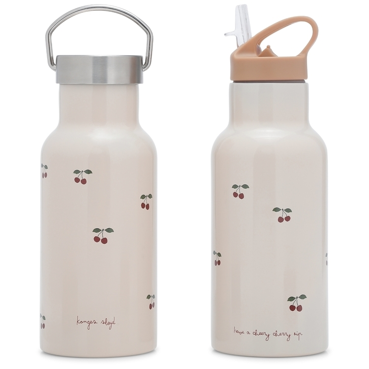 Thermo bottle / Flaska Cherry - Konges Slöjd