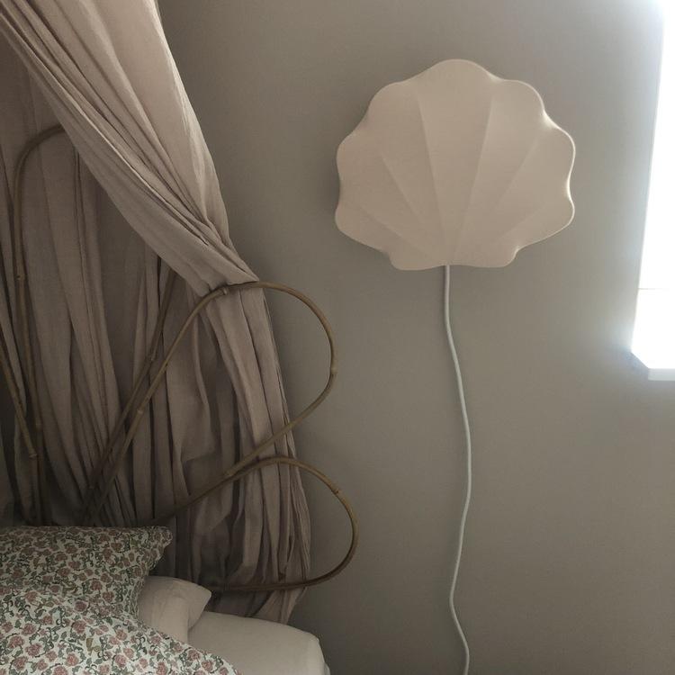 Clam lamp Blush - Konges Slöjd