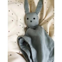 Konges Slöjd sleppy rabbit French Blue, snuttefilt