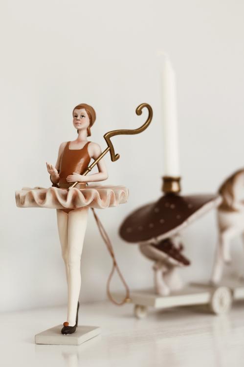 Ballerina Födelsedagståg - Konges Slöjd