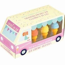 Suddgummi glassar med vaniljdoft