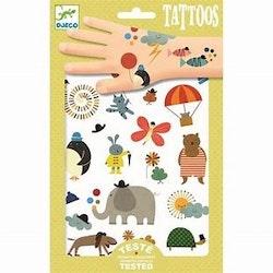 Barnvänliga tattoos, Djurmotiv