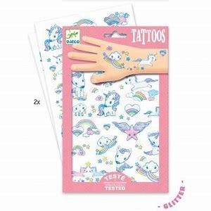 Barnvänliga tattoos, Unicorn
