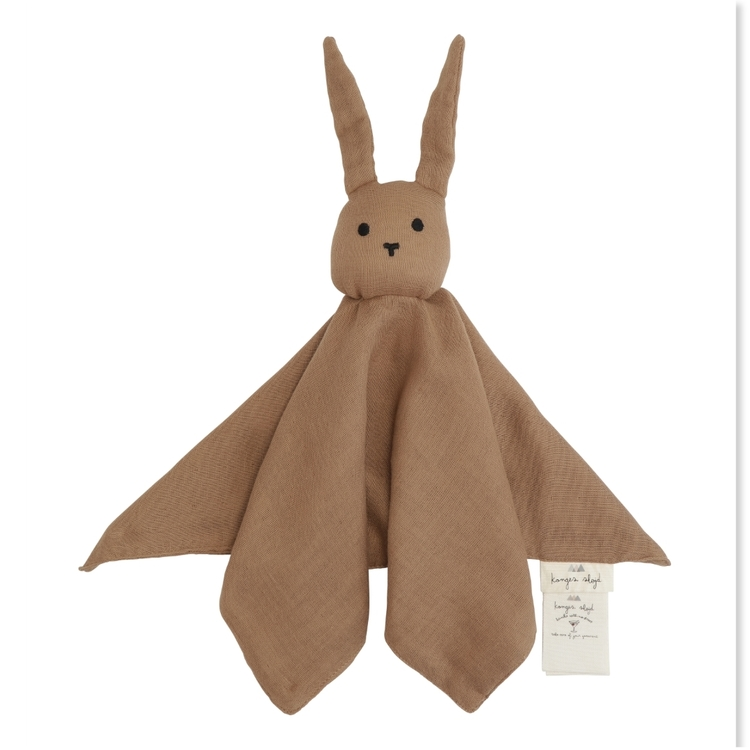 Konges Slöjd sleppy rabbit Almond, snuttefilt