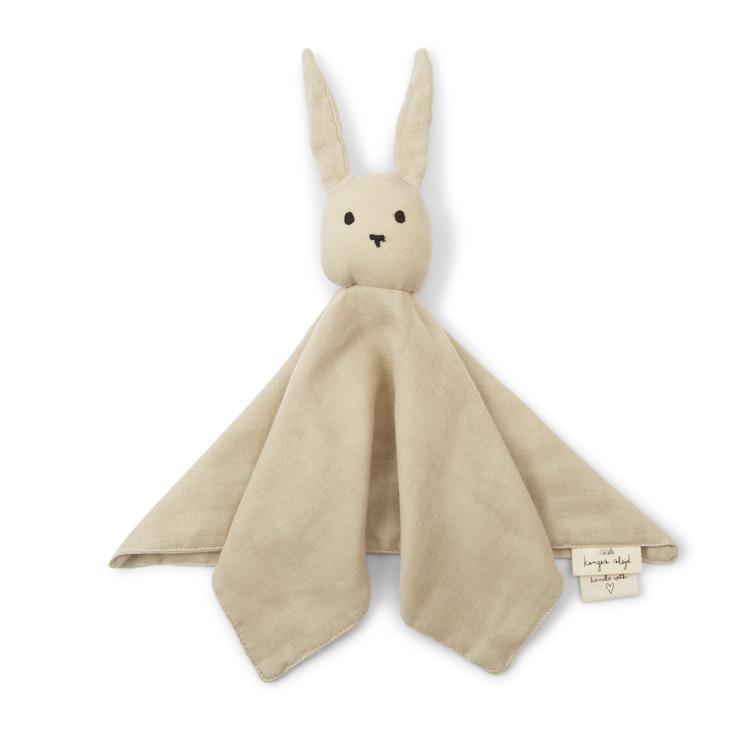 Konges Slöjd sleppy rabbit Silver Brich, snuttefilt