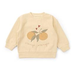 Lou Sweatshirt Apricot - Konges Slöjd