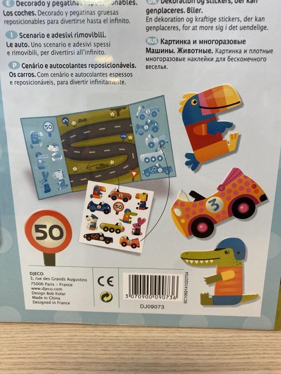 Flyttbara klistermärken  - Dejco