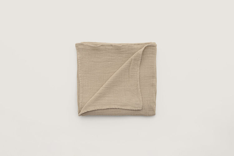 Muslin Swaddle Blanket Olive - Garbo & Friends