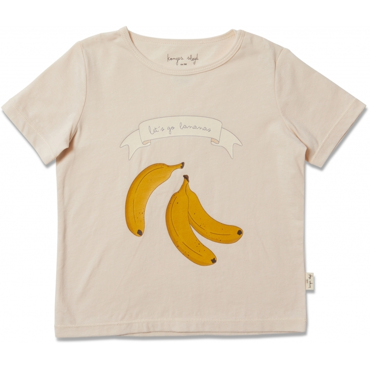 Famo Tee Champange/Banana - Konges Slöjd