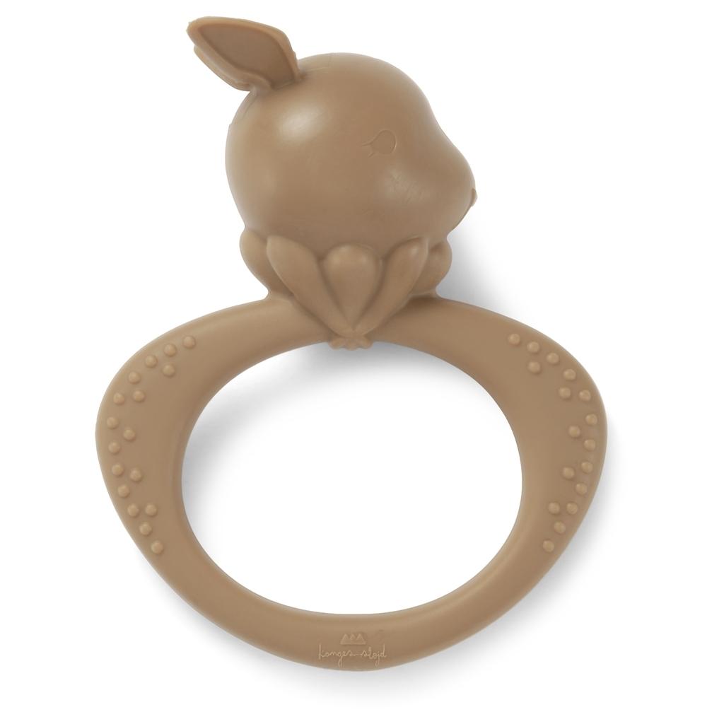 Bitleksak silicone toys rabbit alomond - Konges Slöjd