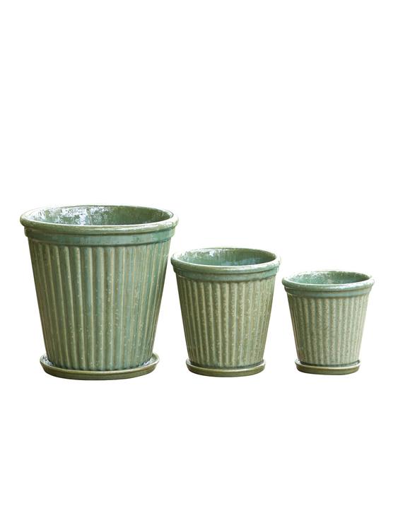 Birthe, Glaserad grön