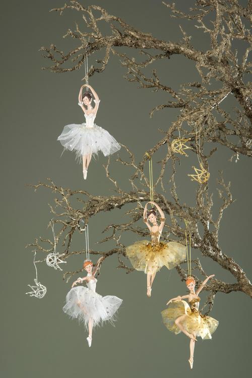 Ballerina, mörkhårig
