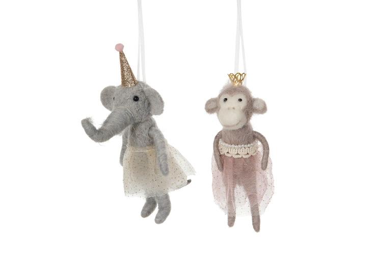 Ulldjur Elefant