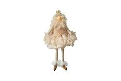 Flicka m/ krona & klänning