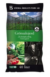 Ekologisk grönsaksjord 40 L