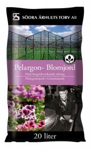 Pelargon- Blomjord 20 L