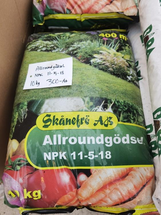 Allround gödsel, 10 kg