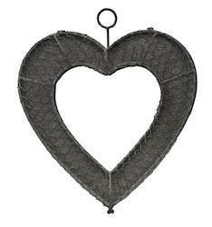 Hjärta i hönsnet, plått baksida