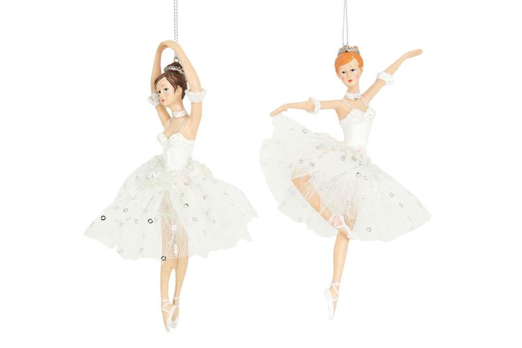 Ballerina, rödhårig