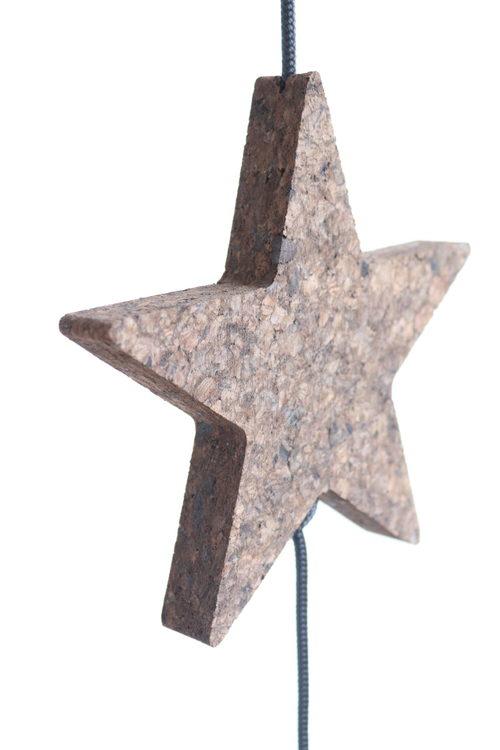 """""""Tråden"""" - Kork Stjärna, Stor"""