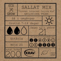 Sallat Mix - Gourmet Looseleaf Cutting Mix