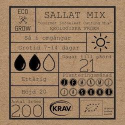 Sallat Mix - Gourmet Looseleaf Cutting Mix