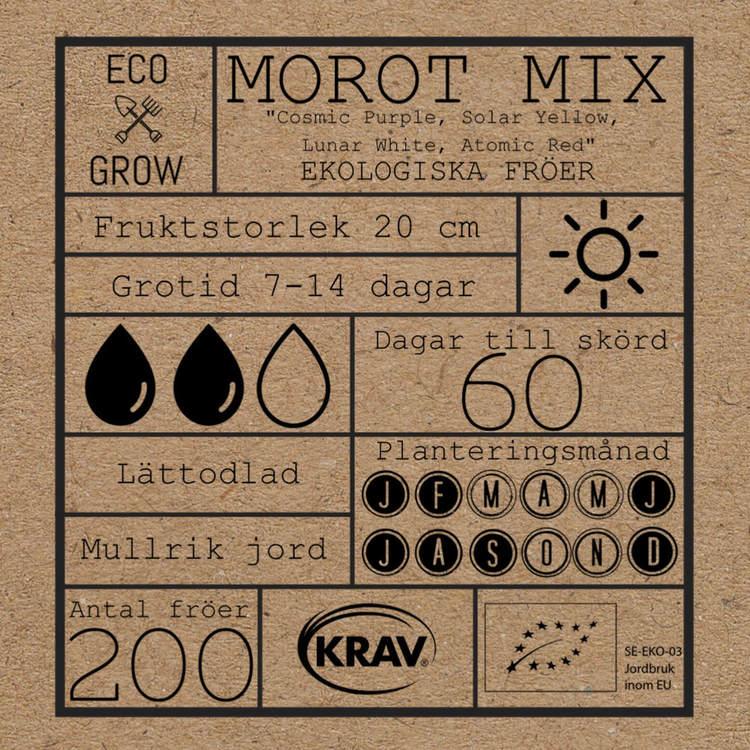 Morot Mix - Eco Grow