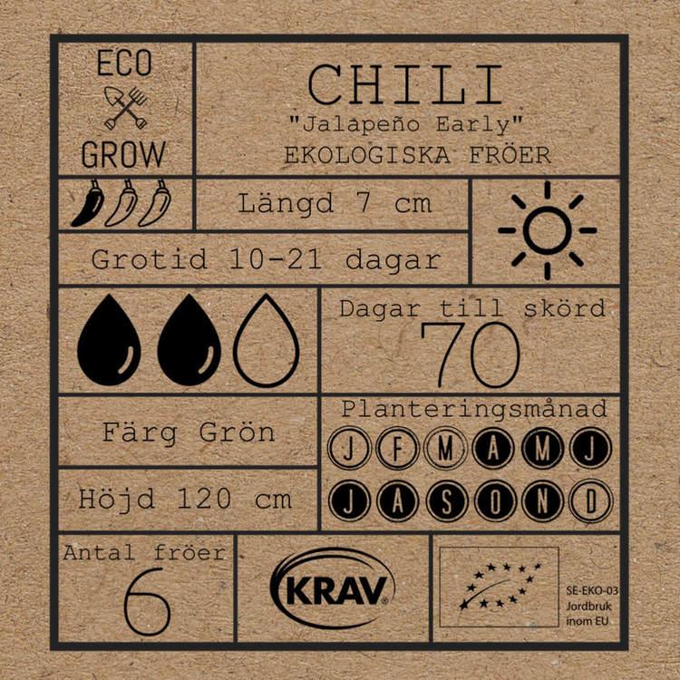 Chili - Jalapeno Early