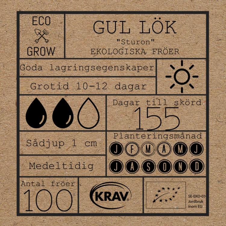 Gul Lök  (frön)- Sturon