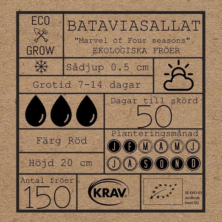 Bataviasallat - Marvel of Four seasons