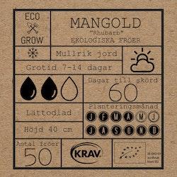 Mangold - Rhubarb