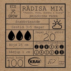 Rädisa Mix - Eco Grow