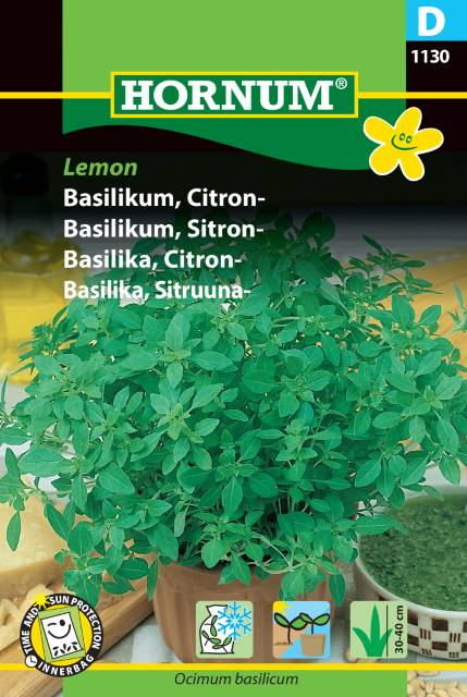 Basilika, Citron - Lemon