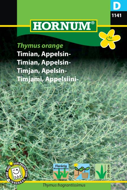 Timjan, Apelsin - Thymus Orange