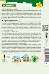 Libbsticka, Hornum frø