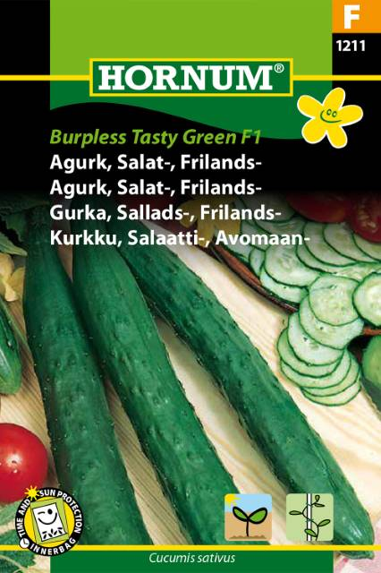 Salladsgurka - Burpless Tasty Green F1